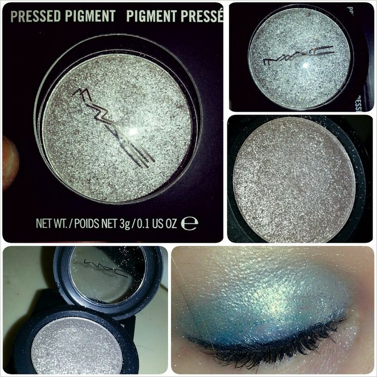 Mac silver eye pigment. LOVE IT!