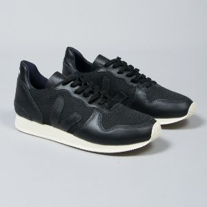 Veja Black Holiday B-Mesh Trainers: With a B-Mesh upper that is made from 15 recycled plastic bottles that results in a fabric that is both breathable and waterproof, these trainers are a must have for any style hunter with concern for the environment. They feature contrast textured panels and the classic brand 'V' on the sides (made from wild rubber), along with a durable and lightweight rubber sole - they're super modern and eco-friendly all in one, what more could you ask for?