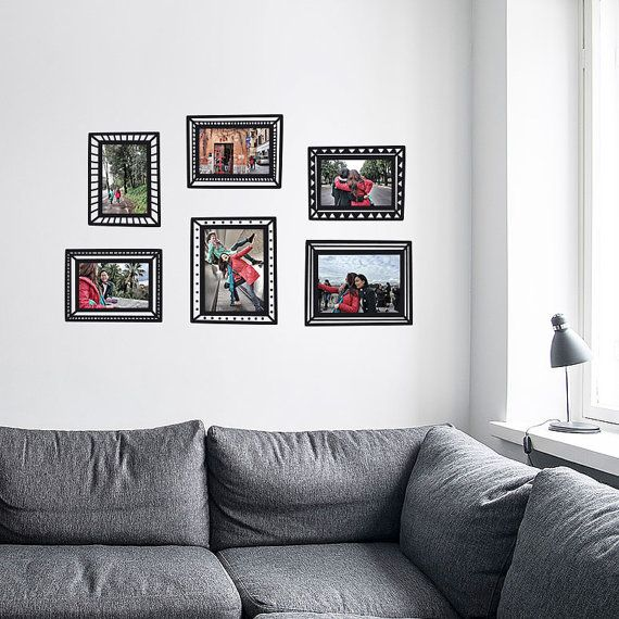 Our Decal Photo Frames Are The Perfect Solution For Hanging Pictures Without Nails Or Tape