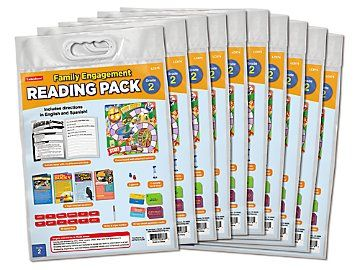 Lakeshore Family Engagement Reading Pack – Gr. 2 – Set of 10 – Products