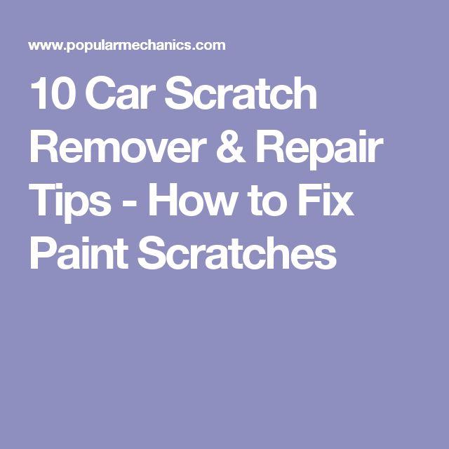 Amazoncom Fix It Pro Clear Car Scratch Repair Remover