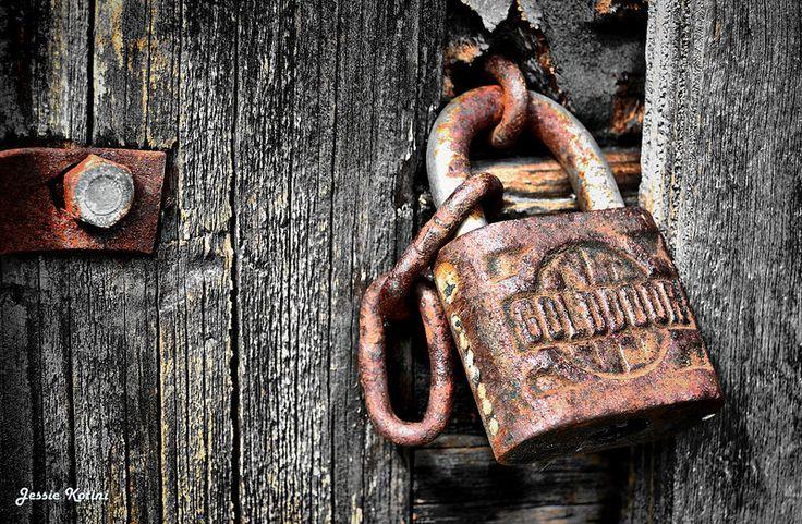 Rusty Lock | by Jessie Kotini