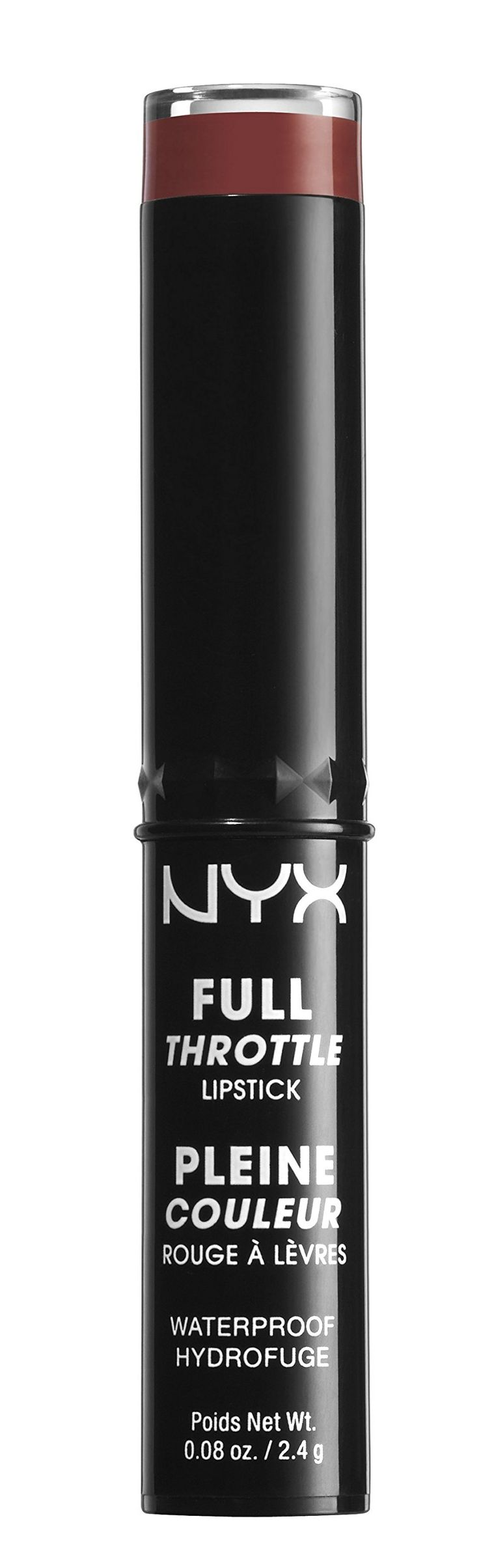 NYX Full Throttle Lipstick ~ Con Artist 01. Color: Red,Brick. Item Condition: 100% authentic, new and unused. NYX Cosmetics Full Throttle Lipstick Con Artist. NYX Cosmetics Full Throttle Lipstick Con Artist: Buy NYX Cosmetics Lipsticks - NYX Cosmetics Full Throttle Lipstick: New waterproof lipstick Super saturated matte color Features a unique buller with a beveled edge for lining, filling and perfecting your pout Details provided by NYX Cosmetics. Type: Lipstick.