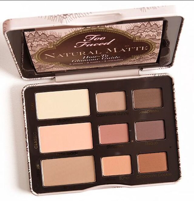 Two faced Natural Matte Palette. #BellaSassy #MustHave