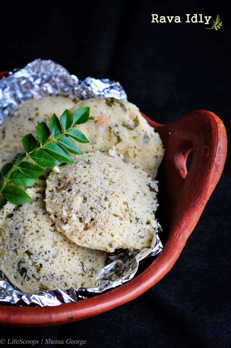 51 best south asian food images on pinterest asian cabbage leaves rava idli steamed cream of wheat cakes from south india forumfinder Gallery