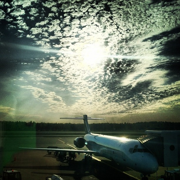 Early morning flight to Oslo, from Helsinki, Finland by Stephen Sutton, via Flickr