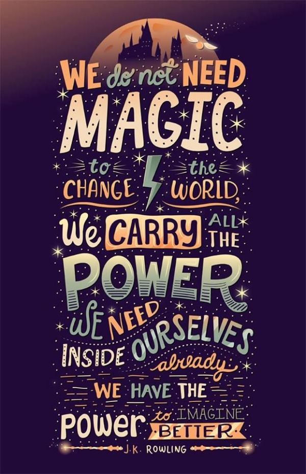 Harry Potter Quote! by tricia