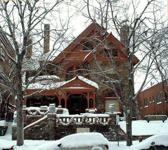 Titanic survivor Molly Brown's house in Denver, CO