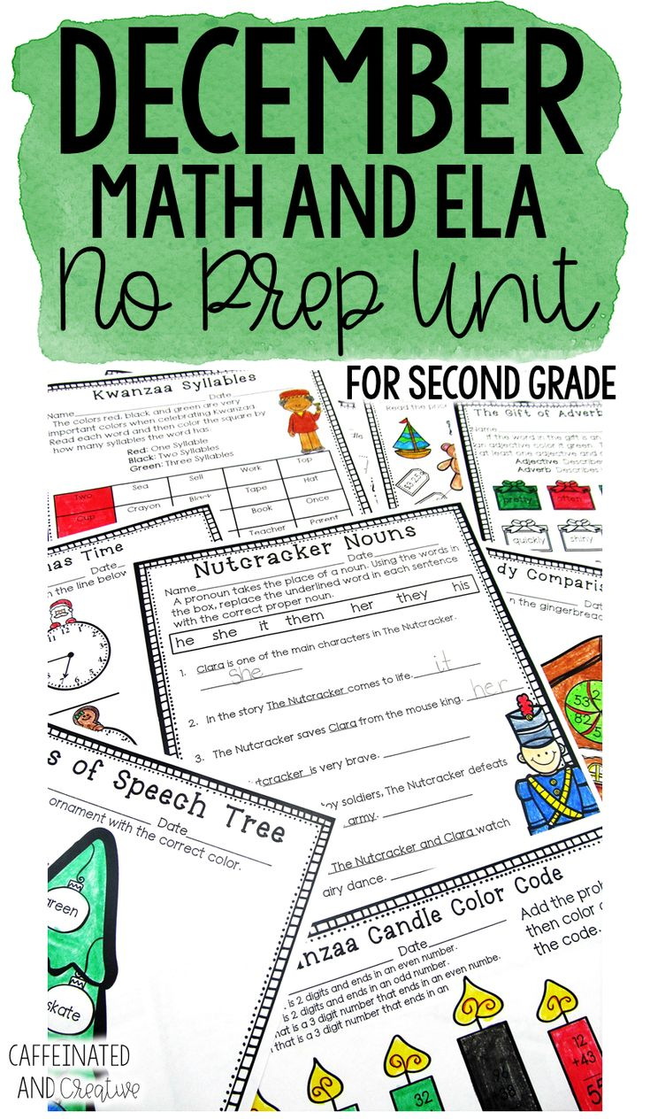 652 best December Ideas images on Pinterest | Grade 2, Second grade ...