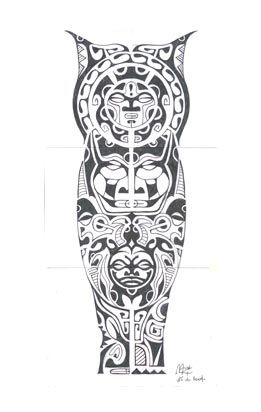 tatuagem.polinesia.maori.0173.perna tattoo by Tatuagem Polinésia - Tattoo Maori, via Flickr