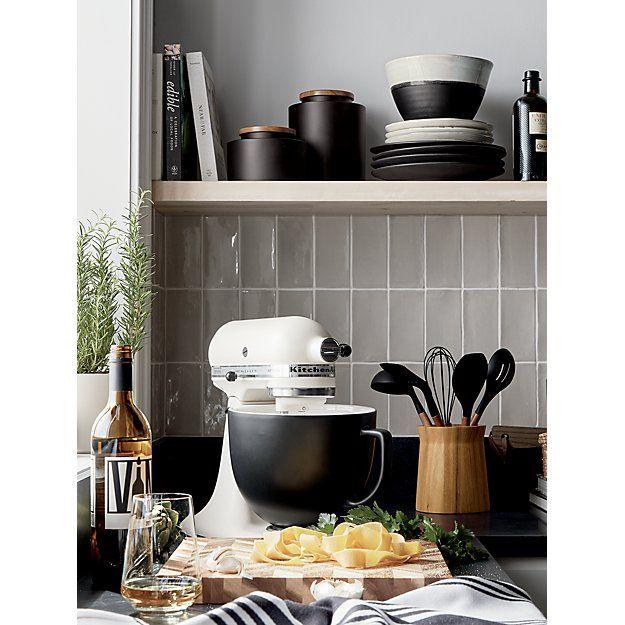 Kitchenaid Artisan Matte Milkshake Stand Mixer Reviews Crate And Barrel Cottage Kitchen Design Minimalist Kitchen Kitchen Aid