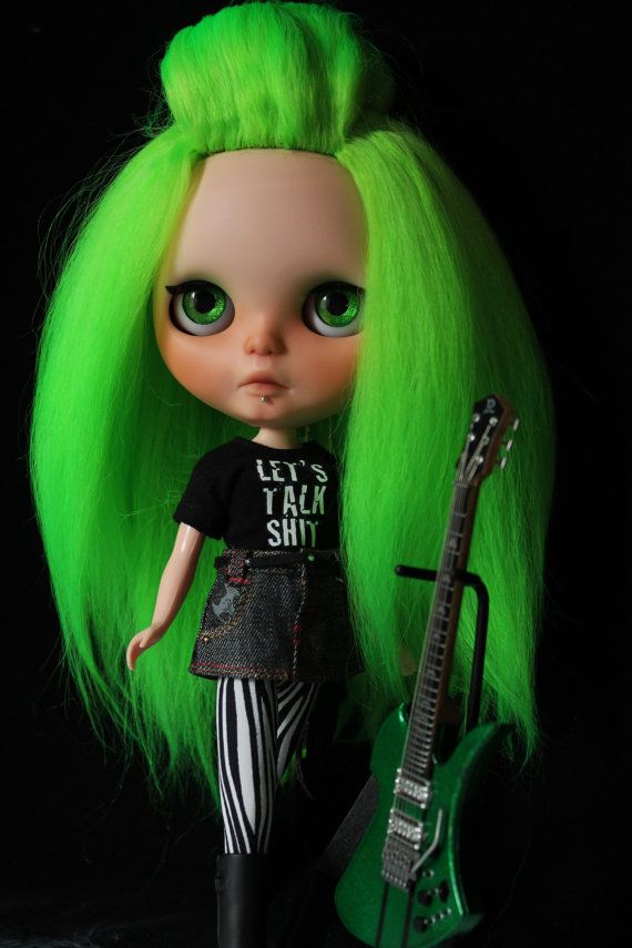 OOAK custom Takara Blythe doll Pizzazz by Chantilly by outonalimb1, $1000.00