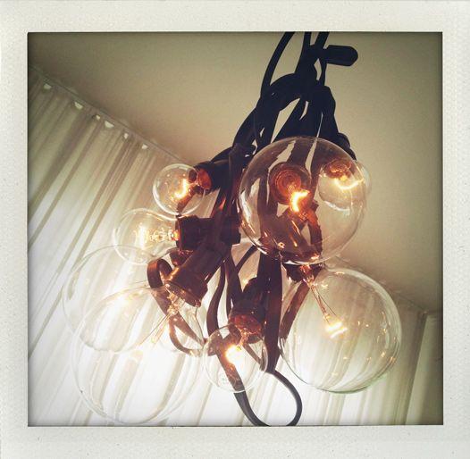DIY: Pendant (strobe light chain).