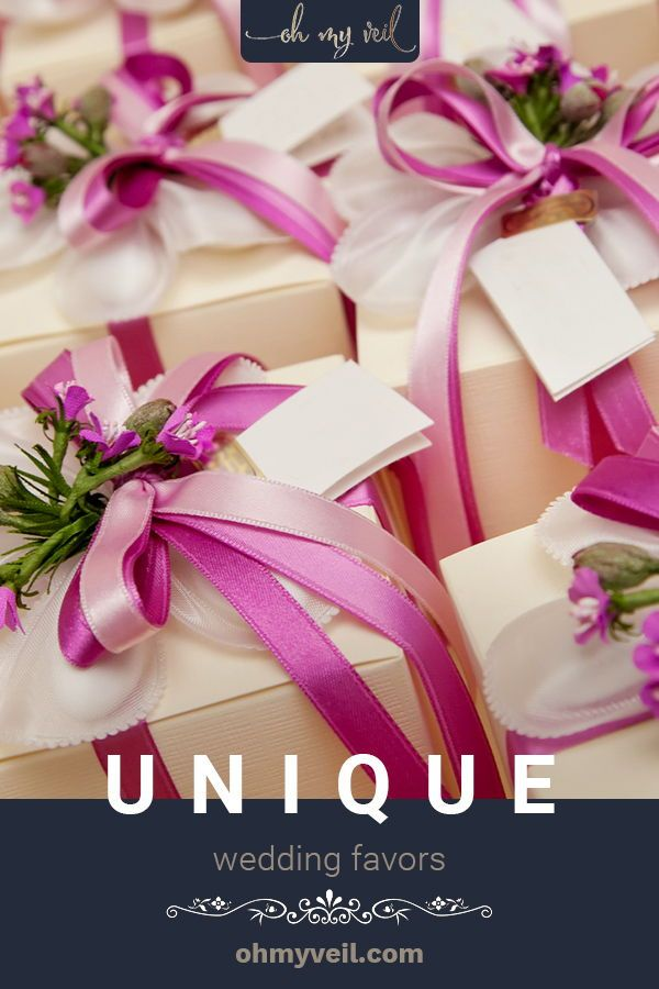 9 Unique Wedding Favors That Your Guests Will Actually Want Oh My Veil In 2020 Wedding Favors Wedding Gift Favors Unique Wedding Favors