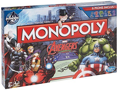 Hasbro – B03231010 – Jeu De Société – Monopoly – Avengers