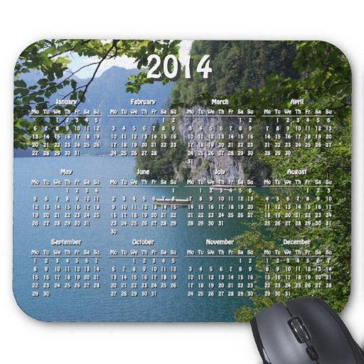 SOLD Berchtesgaden, Germany 2014 calendar Mouse Pads