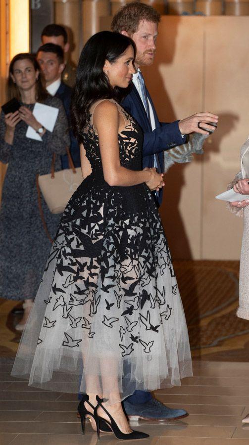 7efb396f3 El fabuloso vestido de gala con el que Meghan Markle se salta sus ...