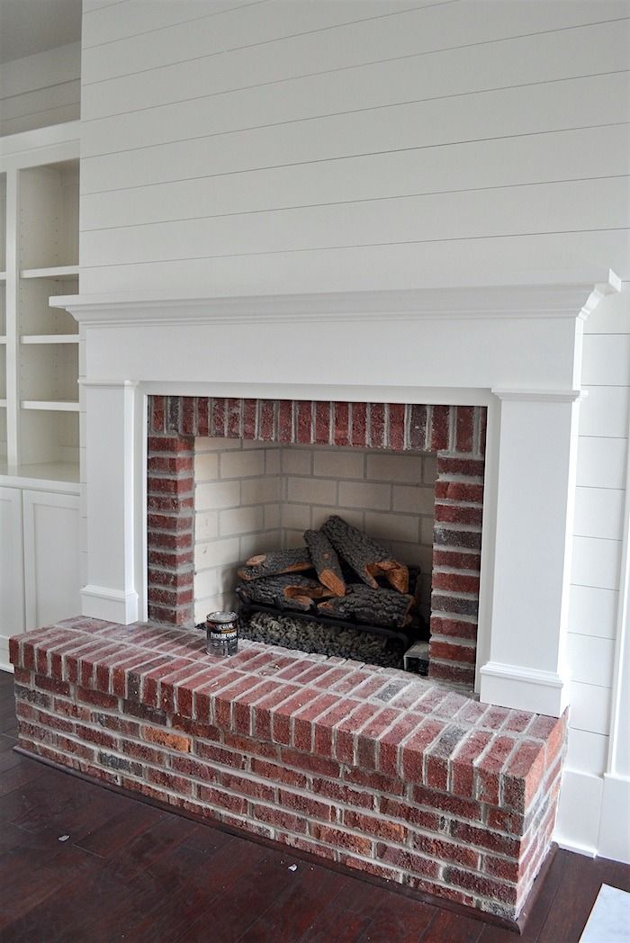 Best Brick Fireplace Decor Ideas Pinterest Fire Place Chimney And