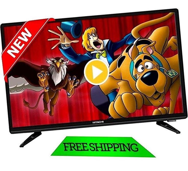 "TV Full HD Hitachi 22"" LED 1080P FHDTV Flat Screen Monitor HDMI USB Slim bezel #Hitachi"