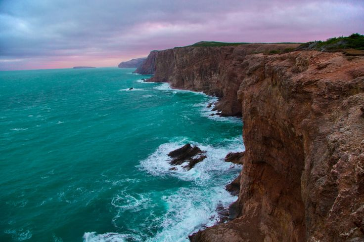 Beautiful cliffs of the Cape St. George, NL
