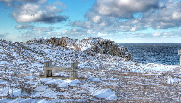 Winter Shoreline, Cape Bonavista, Newfoundland
