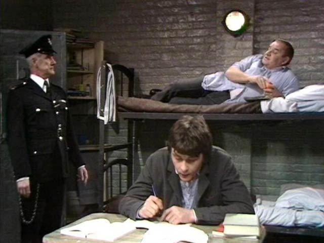 Porridge is acknowleged throughout the televison industry, as being one of the very best sitcoms (if not thee best)  not written, by a certain former Python or set in Torquay.  http://www.denofgeek.com/tv/19426/celebrating-clement-la-frenais-porridge#ixzz3TVlUAM4n