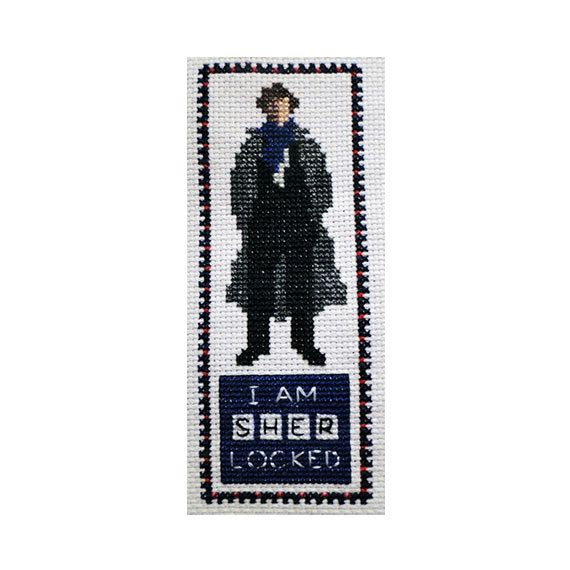 Hey, I found this really awesome Etsy listing at https://www.etsy.com/listing/102372226/sherlock-holmes-i-am-sherlocked-cross
