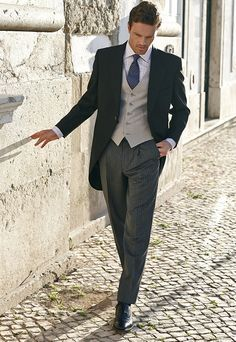 Vinatge style 1920s Classic Morning Suit £340.00. Great look for vintage weddings.  AT vintagedancer.com