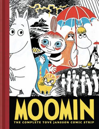 If I could own the entire Moomin book collection I'd be soooooooooooooo happy. Scandinavian lit at it's best.