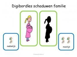 Digibord - Schaduwen
