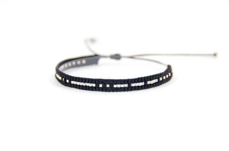 Pulsera de perlas de cristal japonés (piedras Miyuki) modelo 12 / Japanese Crystal Bracelet (Miyuki Beads) Model 12