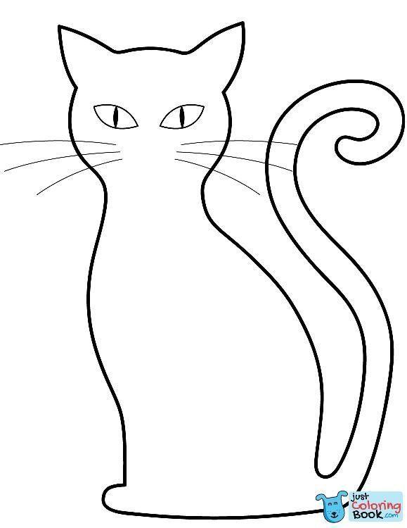 Black Cat Coloring Pages Black Cat Coloring Page Free Printable Coloring Pages In In 2020 Cat Coloring Page Black Cat Printable Coloring Pages