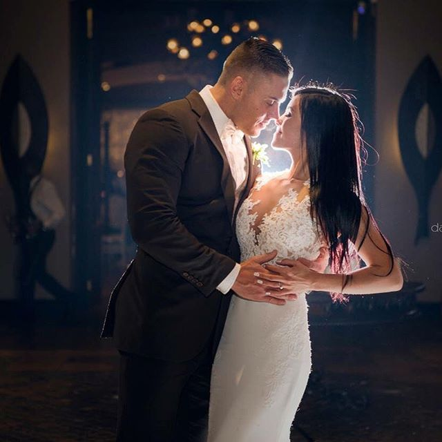 The gorgeous couple, Nicole and Ryan who tied this knot this weekend with us. Photos by @wow_darrell