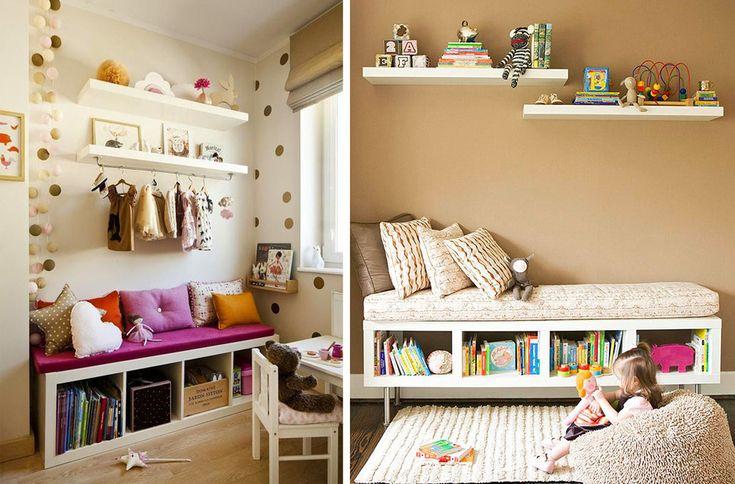 Как не допустить бардака в детской? - Полавкам. Organization Ideas for the Kids' Room.