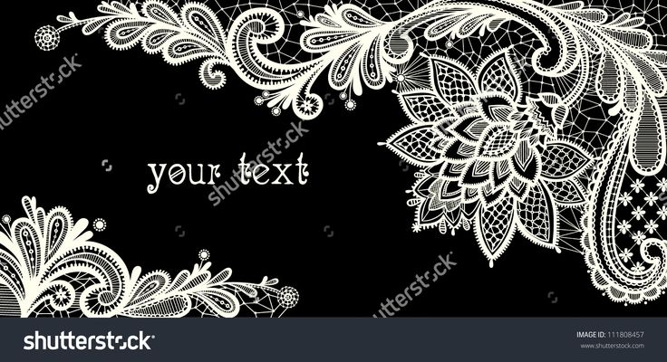 floral background black and white - Buscar con Google