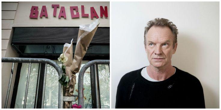 Le Bataclan rouvrivra ses portes le 12 novembre avec un concert de Sting