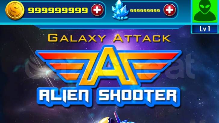 space war alien shooter mod apk android 1
