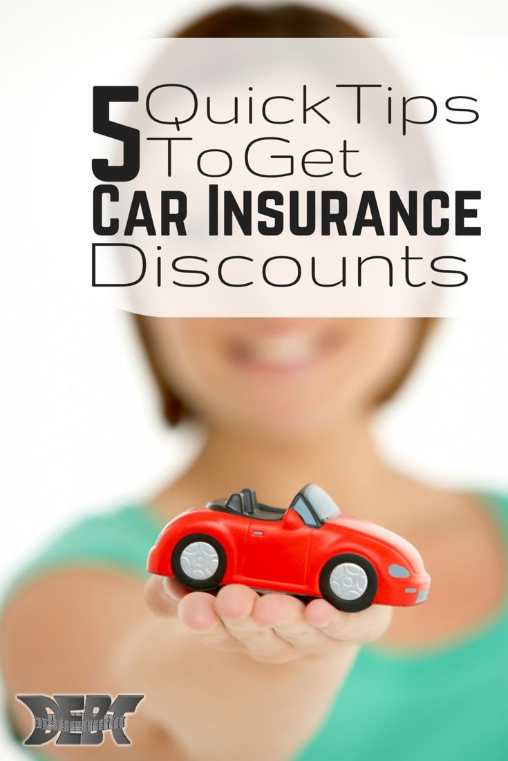 Saving money on car insurance comes down to a few factors. You really should make sure you're taking advantage of them all in order to get the best deal. http://www.debtroundup.com/quick-tips-car-insurance-discounts/