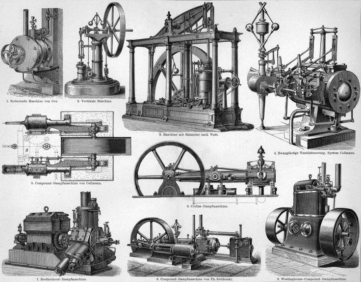 Vintage Ephemera: machines