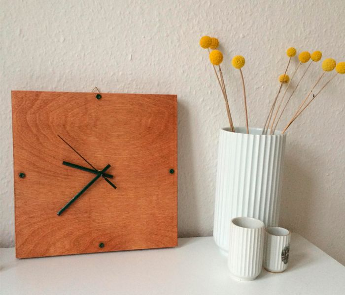 Clock - Wall clock - DIY