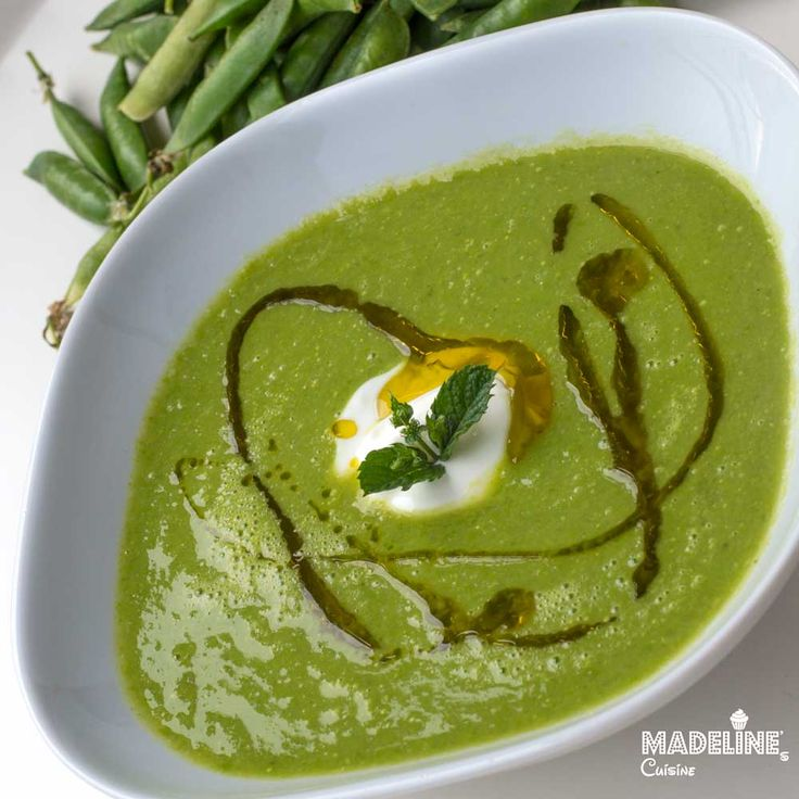 Supa crema de mazare / Pea cream soup