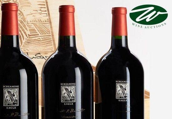 Screaming Eagle Wine California cult Wallys