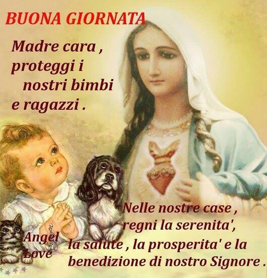 Favoloso 1846 best Buongiorno ☀ Buonanotte con Gesù e Maria images on  LL59