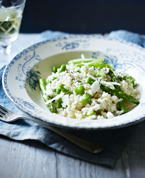 Stir the essential flavours of summertime into this delicious, verdant risotto