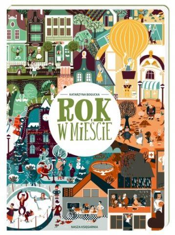 Rok w mieście - Ryms - kwartalnik o książkach dla dzieci i młodzieży