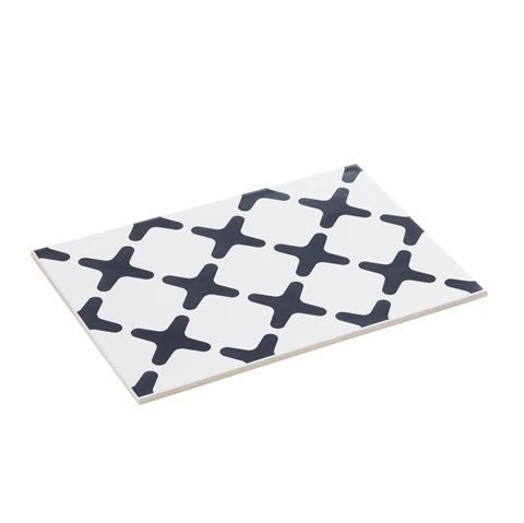 The discovery of an original wall tile designed by Mogens Lassen proved to be love at first sight and the inspiration for by Lassen's new series of table trivets. Use Exes and Maze for placing hot pans on the table or as a mat for salt, pepper, oils and sauces in the kitchen or dining room.