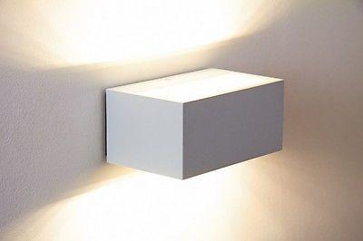Garten Außen Haus Wand Lampe Leuchte Beleuchtung Hof Design Up and Down Strahler