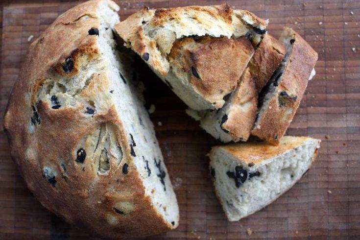 Græsk olivenbrød med oregano