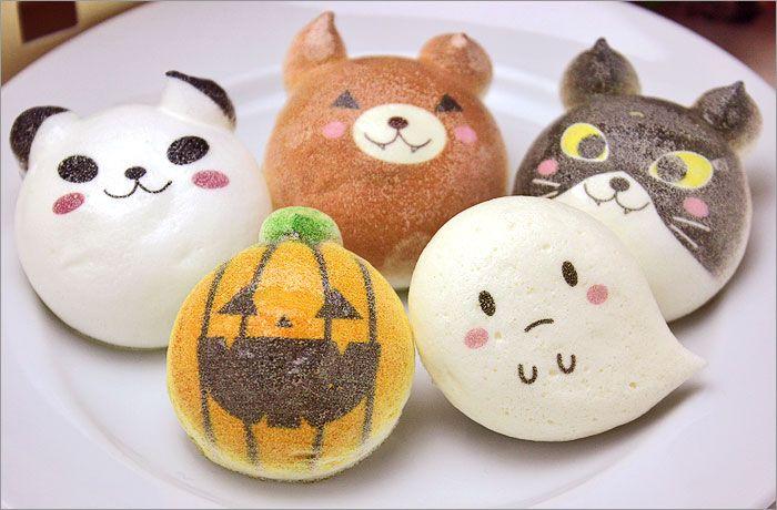 Halloween macaroons ハロウィン限定   お絵かきマカロン