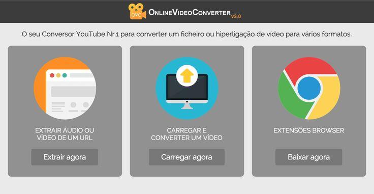 Baixe vídeos do YouTube, Vimeo, Dailymotion. Faça conversão diretamente a partir do seu browser, sem necessidade de instalar software. Fácil de usar, rápido e totalmente gratuito!